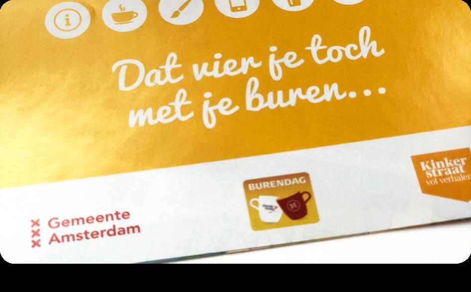 Gemeente Amsterdam burendag