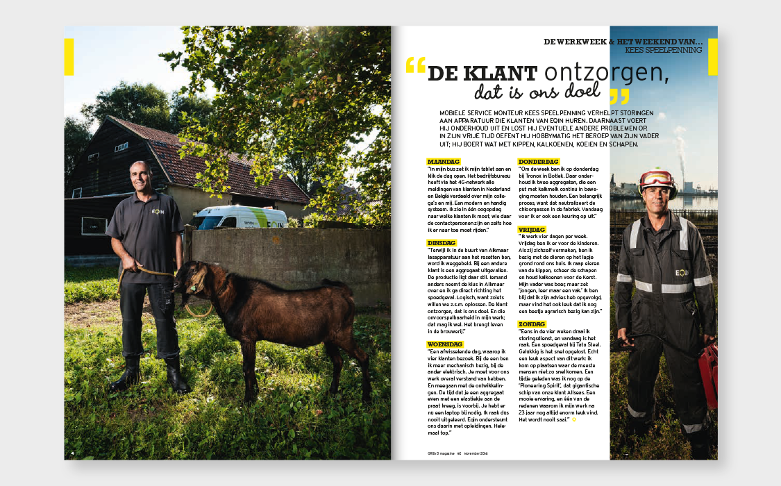 qread magazine vormgeving