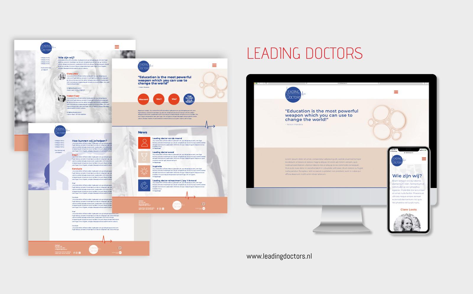 website-maken-leading-doctors-vormgeving