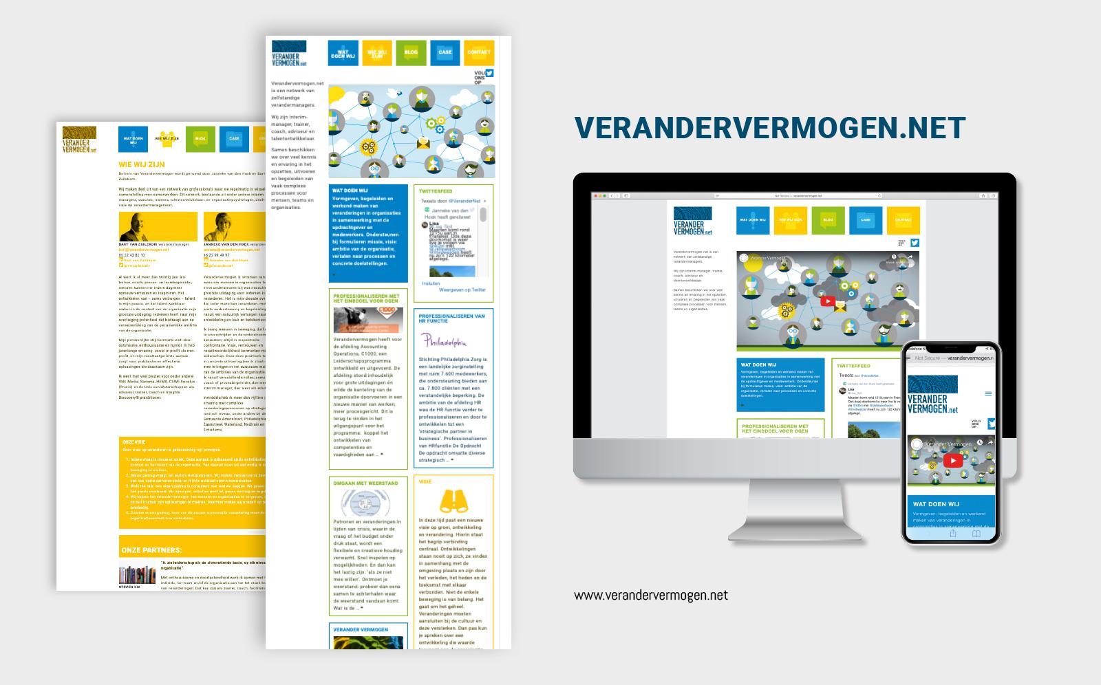 website vormgeving wordpress verandervermogen