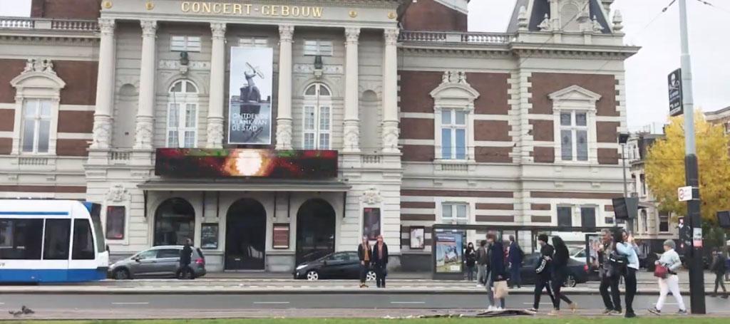 vormgevers amsterdam concertgebouw